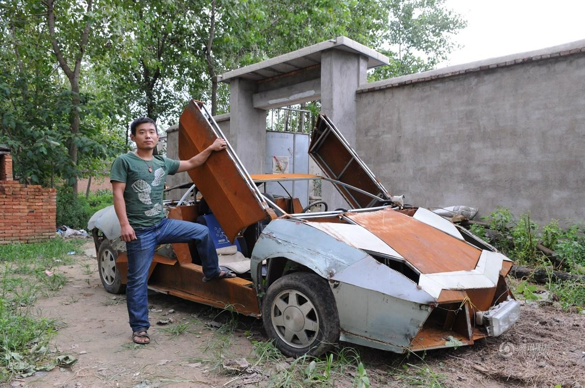 Motorcycle Modified Porsche Hits Road In Zhuhai Shanghai Daily