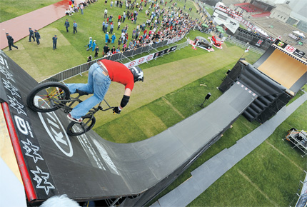 Extreme sports X Games on a roll in city | Shanghai Daily