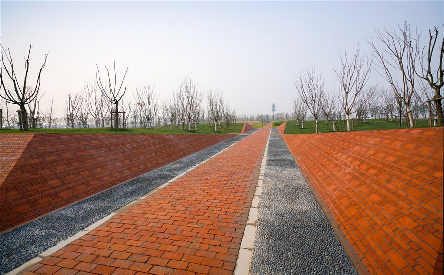 new park along huangpu river to open tomorrow at pudong s qiantan