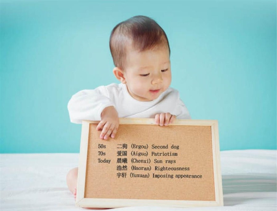 Baby names with Chinese characteristics   Shanghai Daily