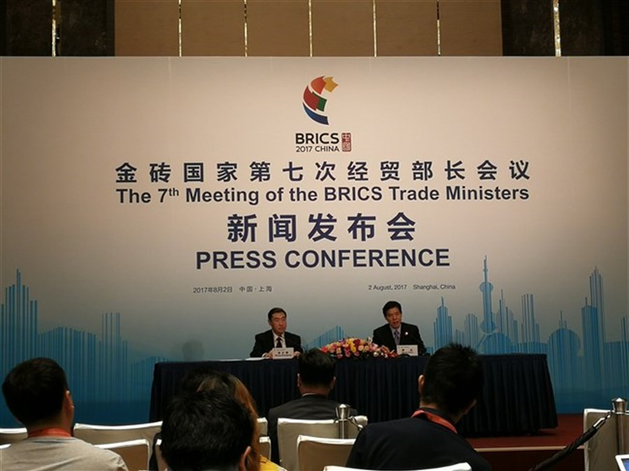 Brics Trade Ministers See Fruitful Results Of Meet Shanghai Daily