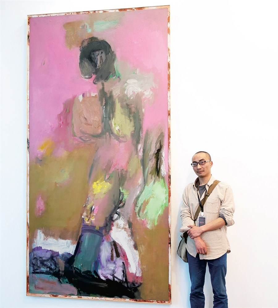 15cdf11c5c30 Famed John Moores Painting Prize exhibits on show   Shanghai Daily