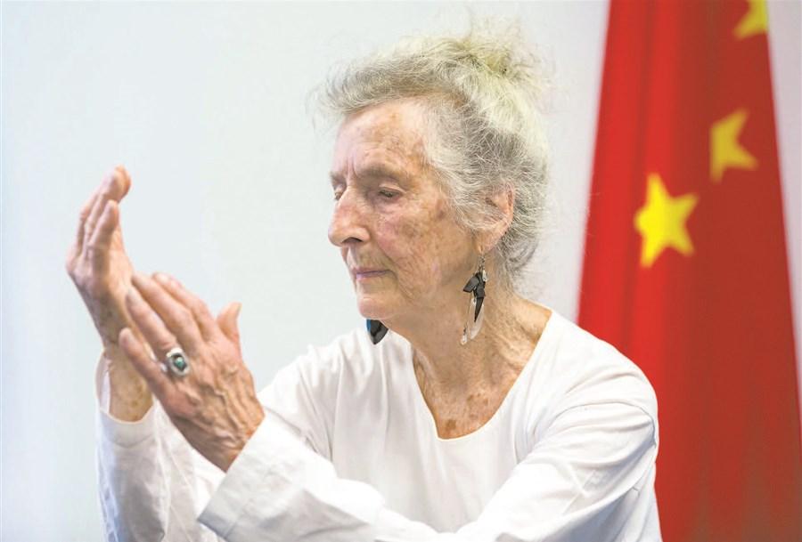 Tai chi brings 'balance' to US woman's life | Shanghai Daily